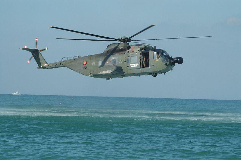 Elicottero S 55 : Precipita elicottero hh f ami morti