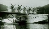1931 - Il Dornier Do X in visita all'Idroscalo di Como